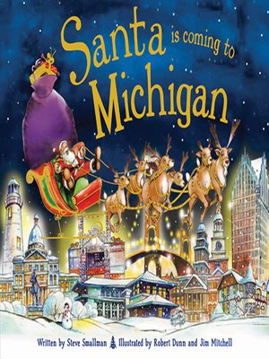 cover image of Santa Is Coming to Michigan